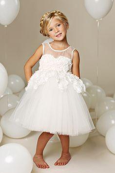 Super sweet flower girl dress
