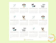 Items similar to 2019 Calendar Stickers Dog Themed, 2019 Mini Monthly Calendar Stickers, Dog Calendar Stickers, Erin Condren Life Planner on Etsy Dog Calendar, Calendar Stickers, 2019 Calendar, Erin Condren Life Planner, All Design, Make It Yourself, Mini, Etsy, Dog