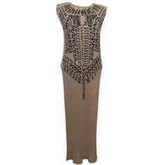 #IsseyMiyake Silk Screened Rare #Gown
