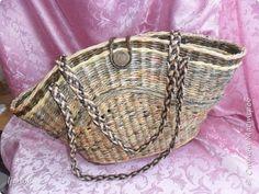 Поделка изделие Плетение На речку Бумага газетная фото 2