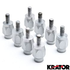 """Krator 3"""" Wheel Stud Spacer Bolts 10mm x 1.25 2xWheels For Arctic Cat Youth"""