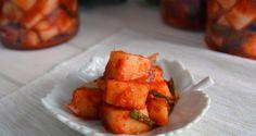 Kkakdugi - kimchi di daikon #koreanfood #kimchi #cucinacoreana