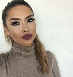 contouring chic makeup