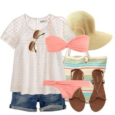 """Tropical Guava Twist"" by qtpiekelso on Polyvore"