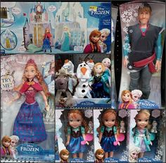 Frozen~dolls