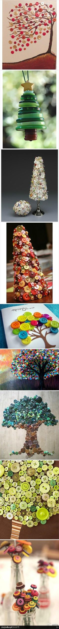 Buttons, buttons, buttons! - Click image to find more DIY & Crafts Pinterest pins