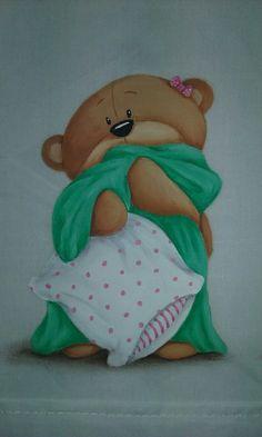 Pintura en tela. Facebook.com/conmismanos.lillo #pinturaentela