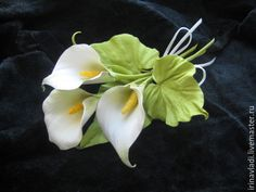Items similar to Accessories Jewels Natural Leather Iris Flower Leather Brooch or Hair Clip Yellow Purple Brooch Leather for Women and Girls Make to order on Etsy Iris Flowers, Sugar Flowers, Paper Flowers, Clay Art Projects, Clay Crafts, Fondant Flowers, Polymer Clay Flowers, Leather Flowers, Leather Jewelry