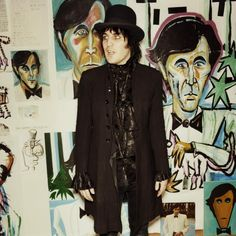 "one of my favorite people, noel fielding, on art: ""Growing up in the jungles of India there was no need for drawing or painting. I would sometimes arrange ants into primitive still lives or scratch out portraits onto the trunks of trees. Things changed when I was 11, a lame tiger who owned a stationery shop gave me the keys to his stock room, I would roll around in acrylic and oil pastels in reverie, licking canvases and tucking coloured pencils into my wild hair. It was here I learned how…"
