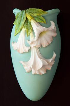 Angel Trumpet Wall Vases