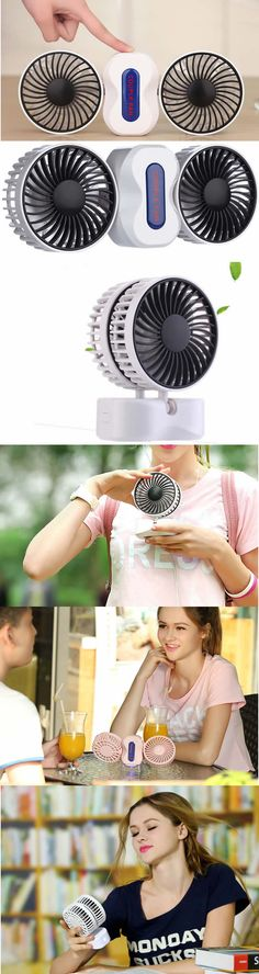 Handheld USB Rechargeable Foldable Personal Cooling Fan