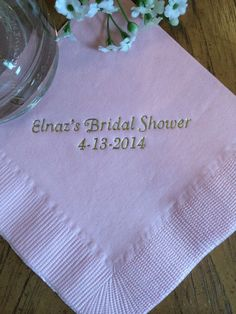 find this pin and more on bridal shower napkins u0026 such