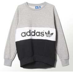 adidas City Tokyo Sweatshirt adidas US ❤ liked on Polyvore featuring tops, hoodies, sweatshirts, adidas, white sweatshirt, adidas top, adidas sweatshirt and white top