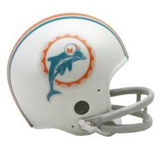 Miami Dolphins 1972 Mini Helmet