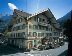 Our hotel in Interlaken - May 25 & 26