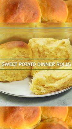 Sweet Potato Dinner Rolls are very fluffy,soft and delicious! The recipe is extremely easy to make using either fresh or canned mashed sweet potatoes.
