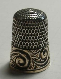 Sterling Silver Thimble | eBay