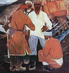 Мухамедов Искандар «Земля» 1970-е