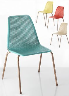 Plastic Waffle Chairs