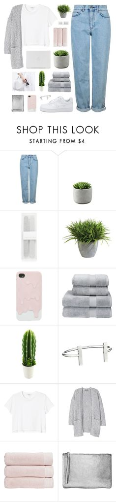 """""""//u n m i s s a b l e//"""" by lion-smile ❤ liked on Polyvore featuring Topshop, Forever New, Ethan Allen, Christy, French Connection, Monki and MANGO"""