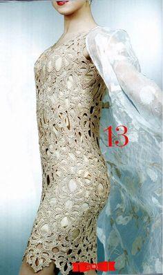 Zélia Crochet: Vestido Maravilhoso!!!