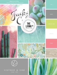 Inspiration Board for New Dalla Vita Brand | By Salted Ink | please find all image credits in this board at www.saltedink.com | #brand #mood #design