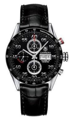 TAG Heuer Men's CV2A10.FC6235 Carrera Automatic Chronograph Day-Date Watch ($3,076)