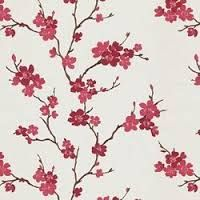 japanese blossoms fabric
