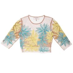 Pin for Later: Nasty Gal x For Love and Lemons Just Took the Naked Dress to the Next Level Nasty Gal x For Love & Lemons Wild Flower Embroidered Crop Top ($178)