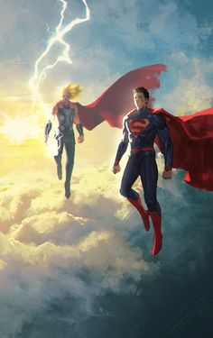 Superman & Thor by Jeong Seong Hun Arte Dc Comics, Marvel Comics, Marvel Vs, Marvel Heroes, Comic Book Characters, Marvel Characters, Thor Vs Superman, Superman Artwork, Batman Batman