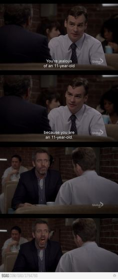 House being House.
