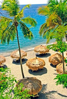 Brides.com: 20 Affordable Beach Honeymoon Resorts. Anse Chastanet, St. Lucia. Perfect for nature lovers with a princess streak, this rustic-luxe retreat cascades down a jungly hill to a volcanic-sand beach.