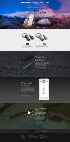 New Thermodo Site & Shop by Michael Flarup