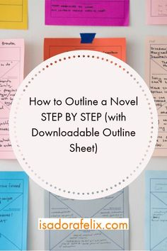 How to OUTLINE A NOVEL STEP BY STEP (with Downloadable Outline Sheet). Learn how to write a book, how to start writing a book for beginners, how to finish writing a story, and more.  #writingabook #socialmediamarketing #digitalmarketing #marketingforauthors #howtowriteabook #writingabookforbeginners #startwritingabook #author #amazon #kdp #selfpublish #selfpublishonamazon #selfpublishabookonamazon #makemoneywriting #writers #creativity #writingprompts #writingcreativity #writinginspiration
