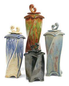 Vessels - American Art Clay Company - The source for creative people! - American Art Clay Company - The source for creative people! Ceramic Boxes, Ceramic Clay, Ceramic Pottery, Pottery Art, Pottery Ideas, Pottery Designs, Ceramics Projects, Clay Projects, Ceramics Ideas