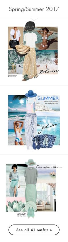 """""""Spring/Summer 2017"""" by elena-777s ❤ liked on Polyvore featuring Beach Bunny, LULUS, Marc Jacobs, Mystique, Free People, Mara Hoffman, Monsoon, House of Lafayette, Melissa Odabash and Chanel"""