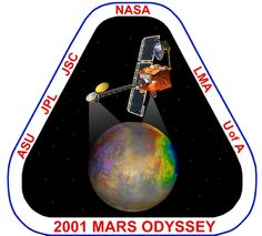 2001 Mars Odyssey Mars Probe, Cosmic Microwave Background, Nasa Patch, Apollo Program, Space Program, Space Shuttle, Space Crafts, Science And Nature, Astronomy