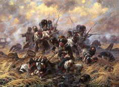 The Battle of Waterloo on June the battle that ended the dominance of the French Emperor Napoleon over Europe; Waterloo 1815, Battle Of Waterloo, Military Art, Military History, Military Diorama, Military Uniforms, French Army, Illustration, Historical Art