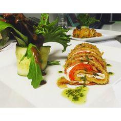 Eggplant and Prosciutto Rollatini