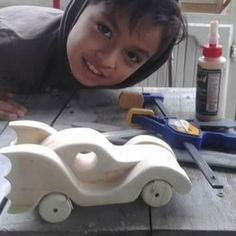 The batmobile toy car made by Maricel.