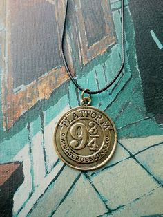 Necklace Harry Potter Platform 9 3/4 / Necklace by DarWipheus
