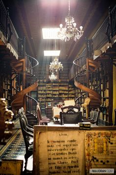 This is a neat space.  I have visited  a couple of times.  Franciscan Father Jerónimo Valera did some very interesting work in this library at the end of the 16th Century and the beginning of the 17th.