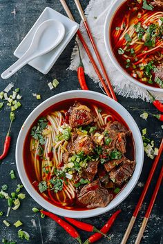 Spicy Beef Noodle So