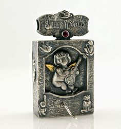 Faith is Torment | Art and Design Blog: Memento Mori: Automaton Jewelry by Kim Nogueira