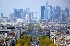 View on La Defense - Paris, France.