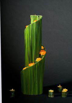 Creative and contemporary. #flowers #gardens #design