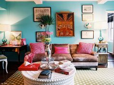 {Color Combo} Pink & Turquoise