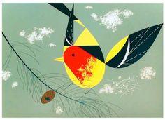 Charley Harper Bird Illustration
