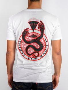 Thirst for Rarity Snake Tee Rarity, Streetwear, Snake, Tees, Mens Tops, T Shirt, Collection, Fashion, Street Outfit