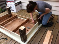 Inside-Out Design: Turning A Coffee Table Into An Ottoman